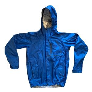 MOUNTAIN HARDWARE hooded rain jacket Mens small